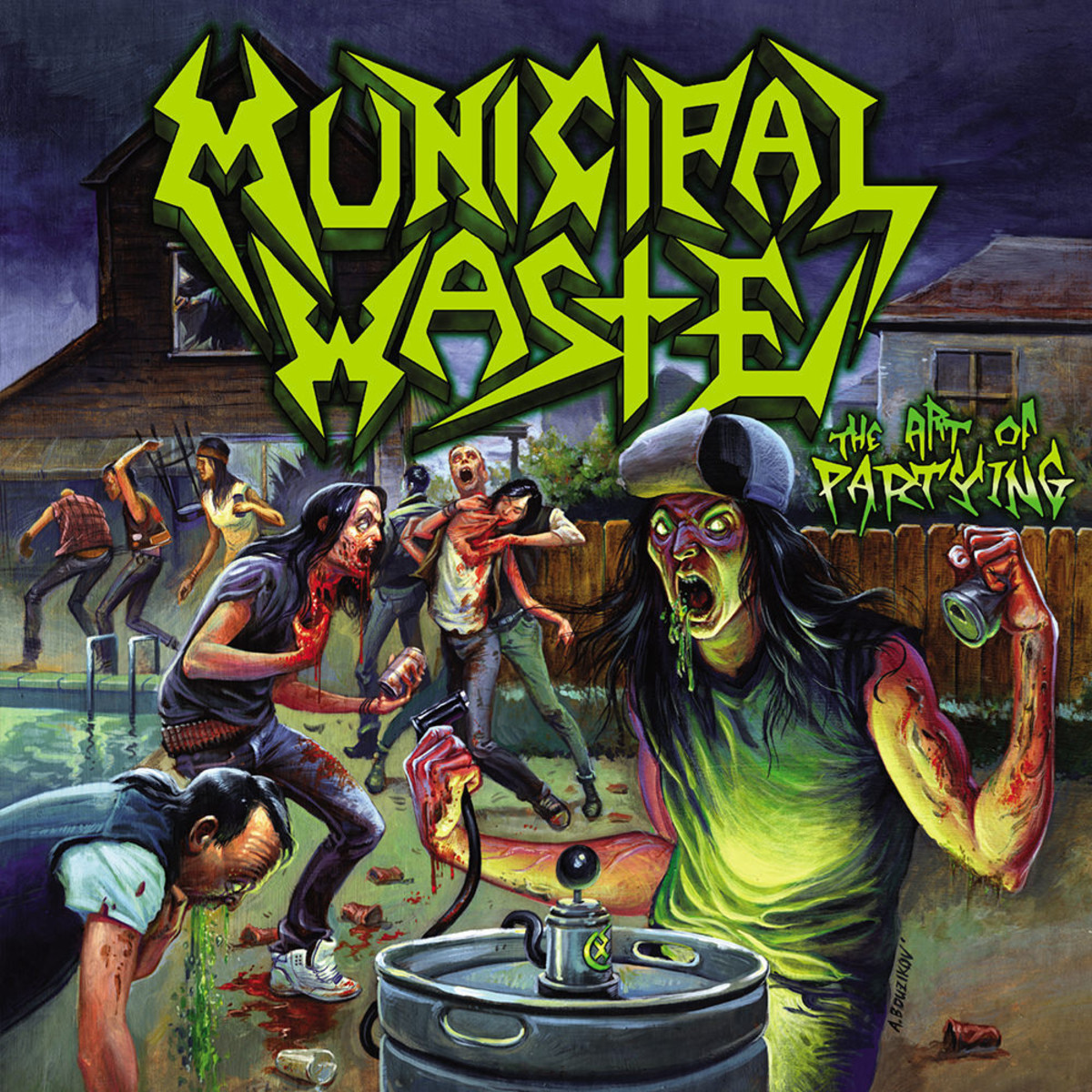 "Review of the Album ""The Art of Partying"" by Thrash Metal Band Municipal Waste"