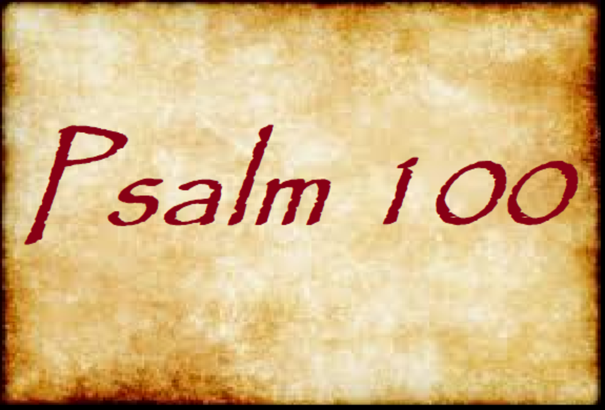 Psalm 100: Permission to Make a Joyful Noise