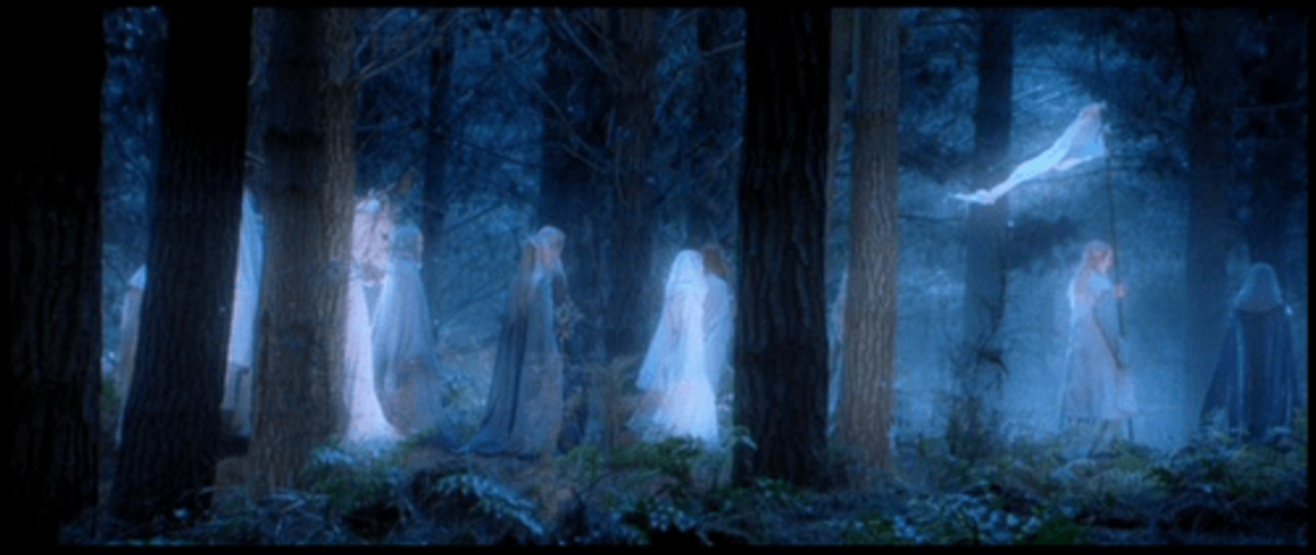 From New Line Cinema.  While the Elves are immortal and can leave for Valinor in the west.  Humans have long regarded this divide as an unfair blessing upon them and the Valar.  Contrast, immortality is actually more of a increasing burden to them.