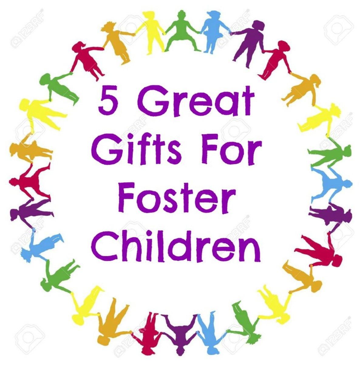 Gift ideas for foster children!