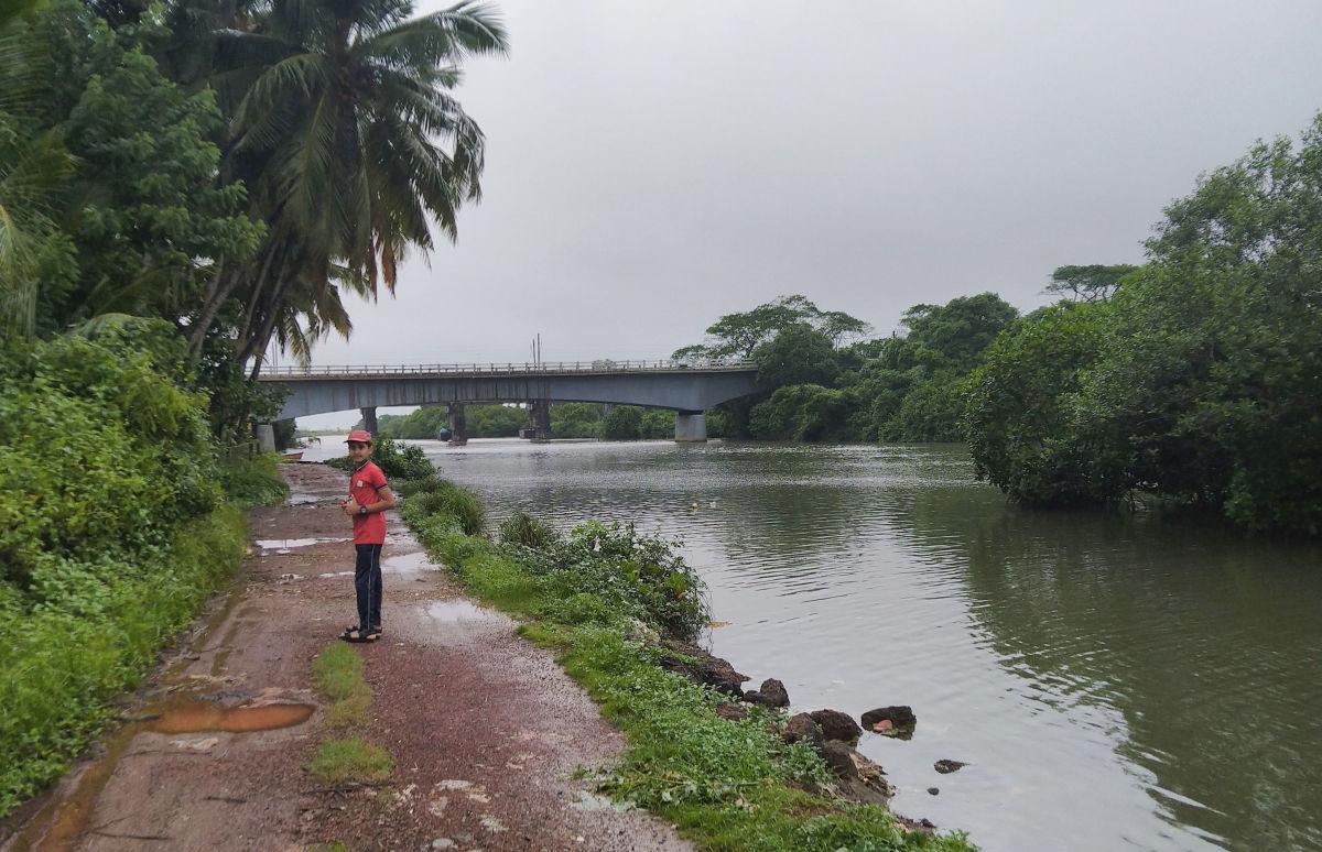 Kumbla river view