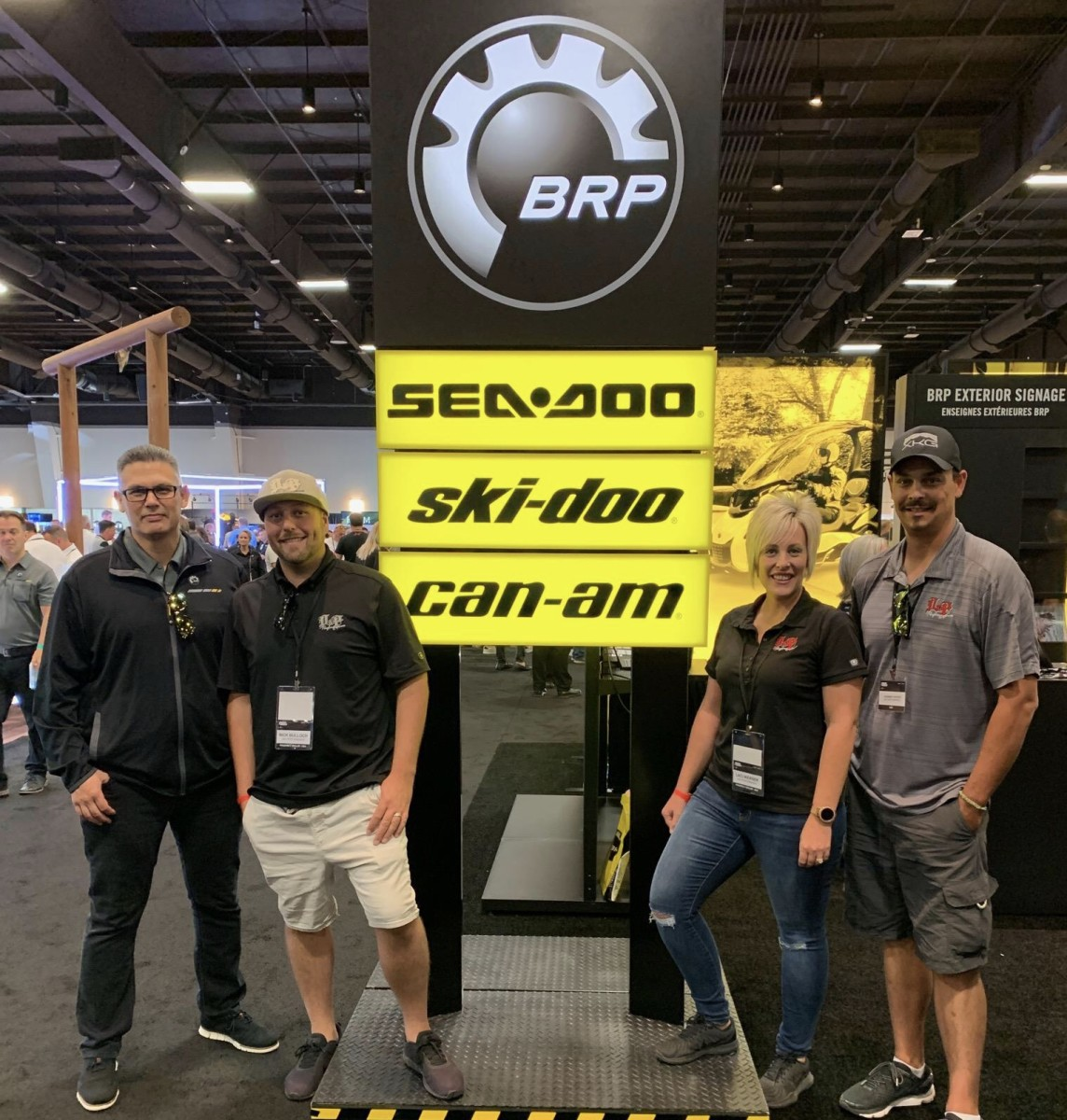 A new BRP dealer, D & P Performance after hearing the announcement of new electric concept vehicles.