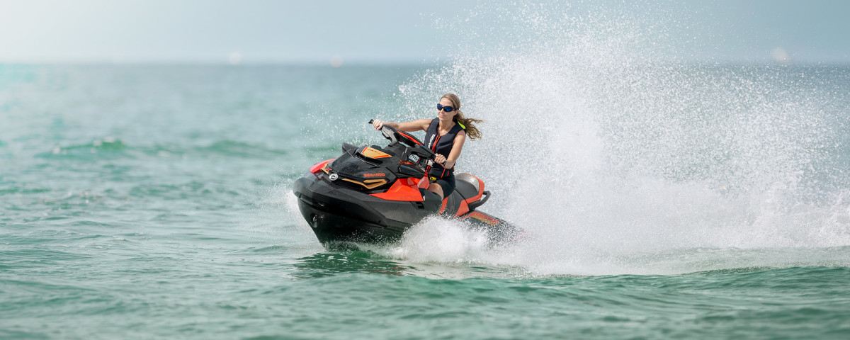 2020 Sea Doo demo ride.