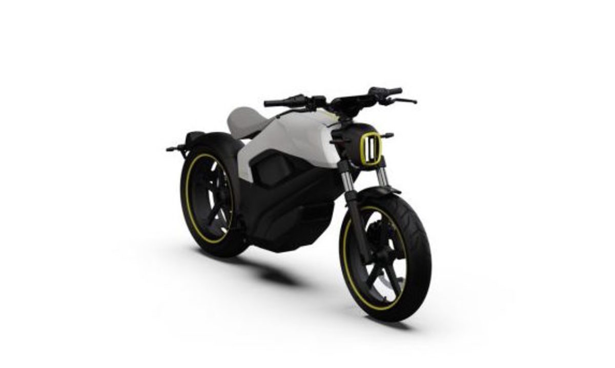 BRP Electric Motorcycle Concept Vehicle