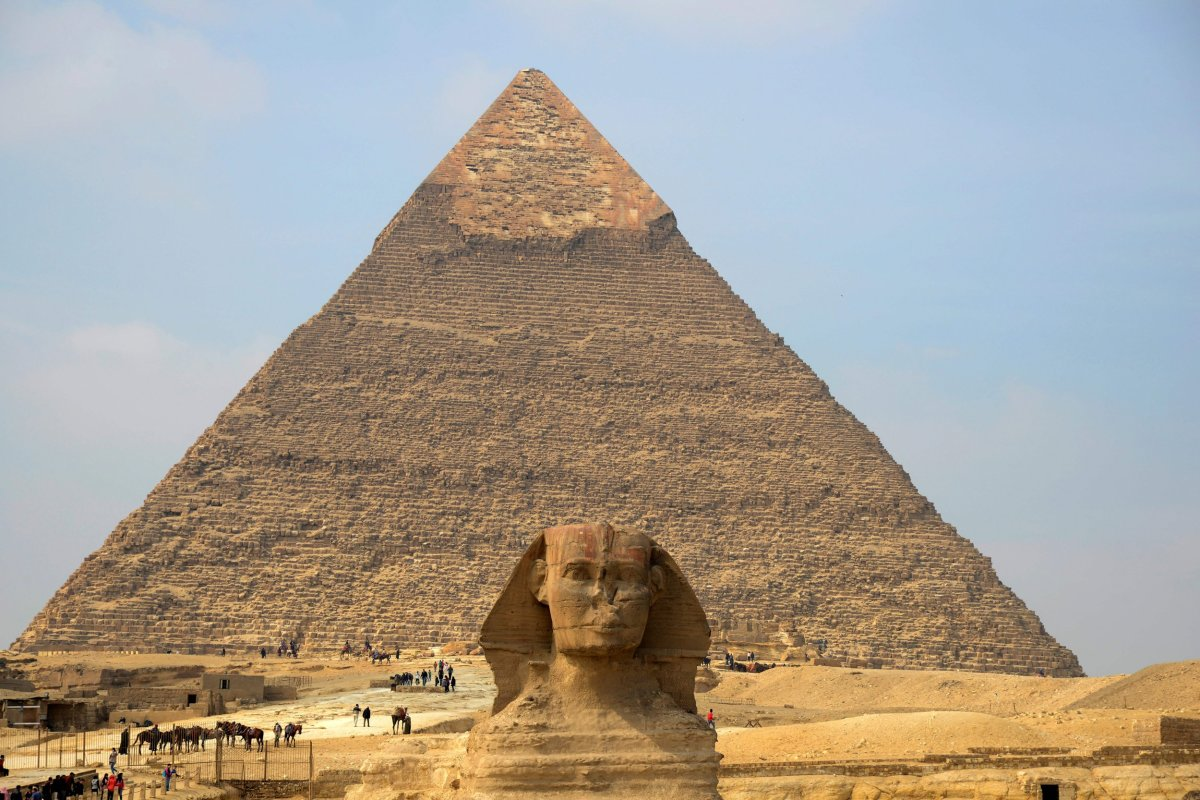 The Pyramids Were Never Built by Aliens
