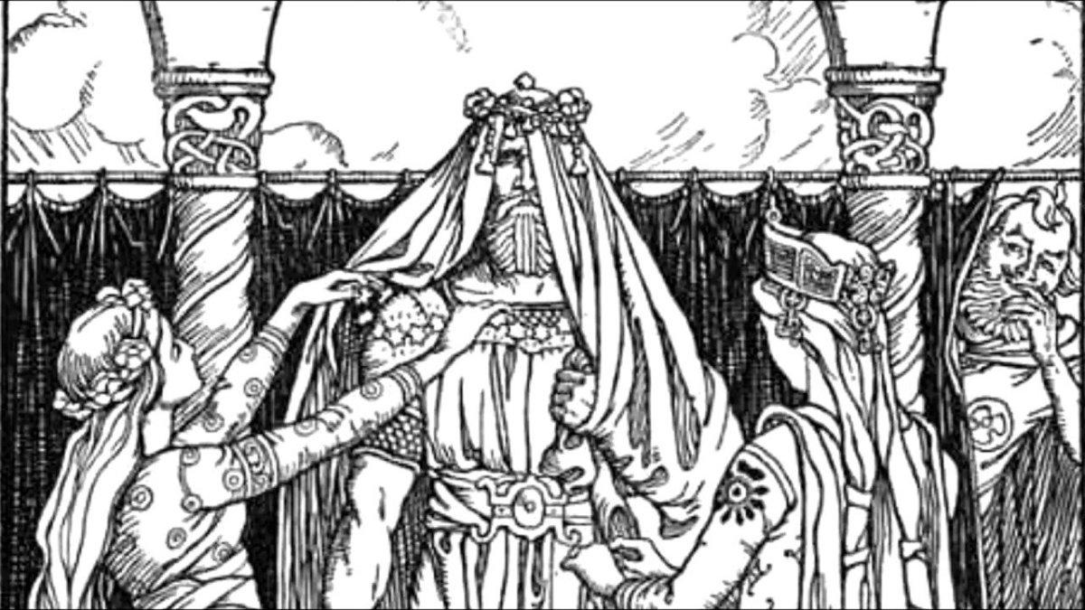 Norse Mythology: How Thor and Loki Recovered Mjöllnir from the Giant, Thrym