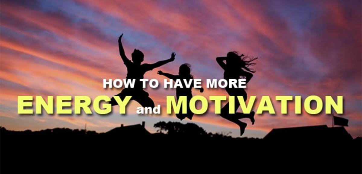 Top Five Ways to Have More Energy