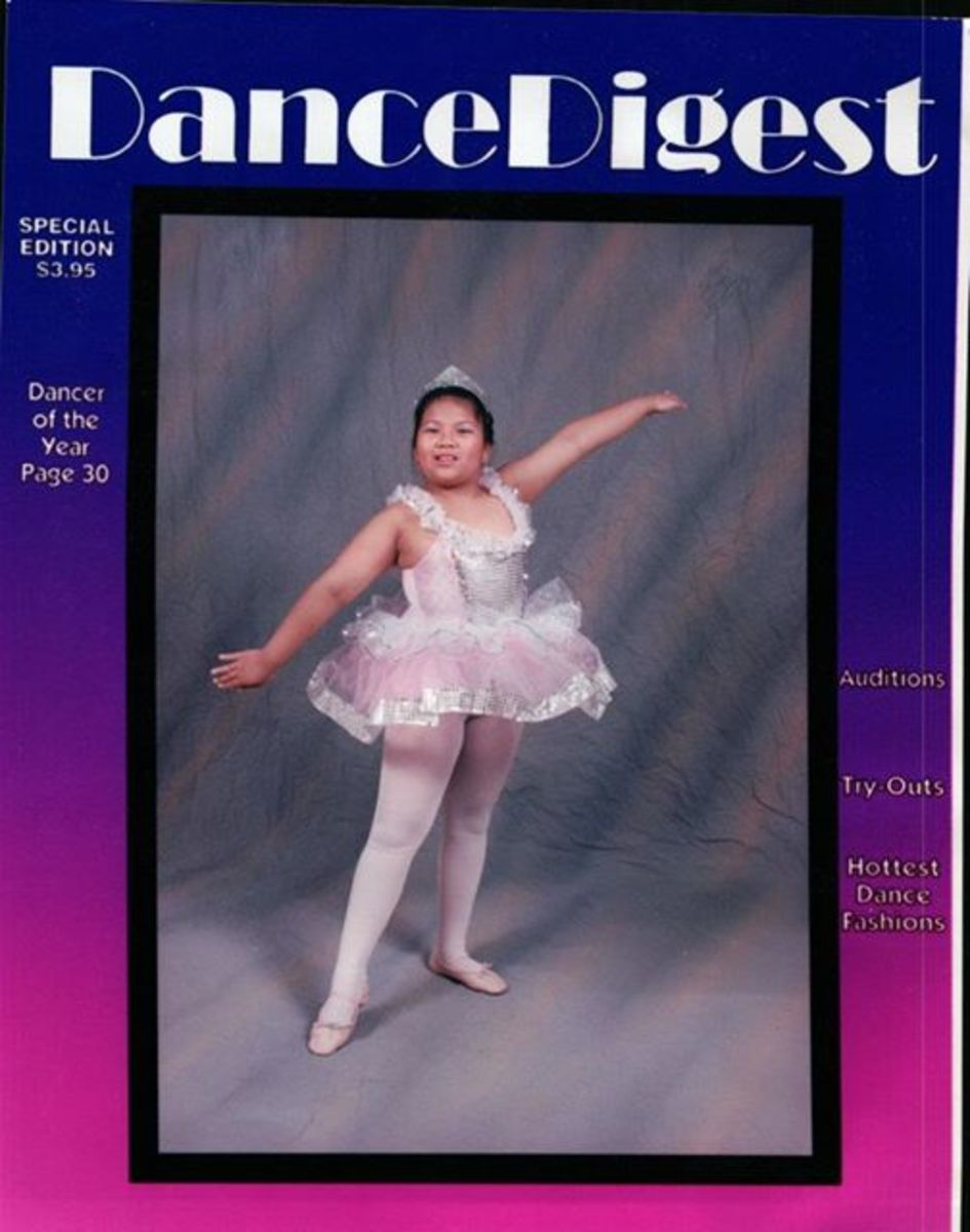 Here's my recital photo, circa 1997. I don't recall which music I danced to in my routine, but it was instrumental classical music, blissfully suited for my age.