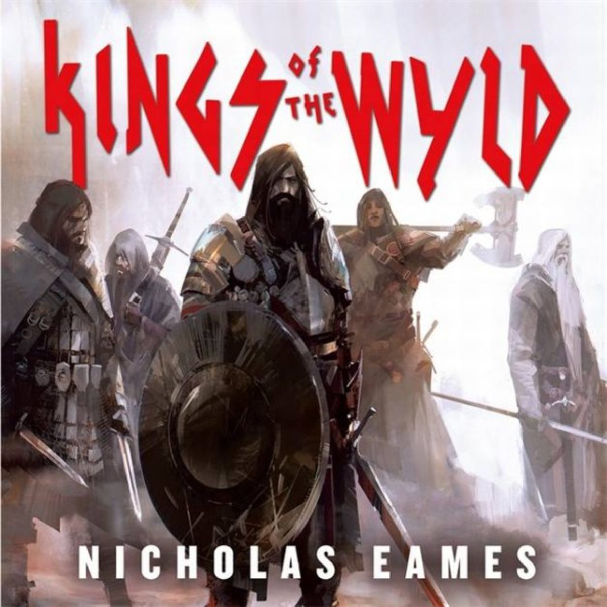 partial cover image from Kings of the Wyld, art by Richard Anderson.