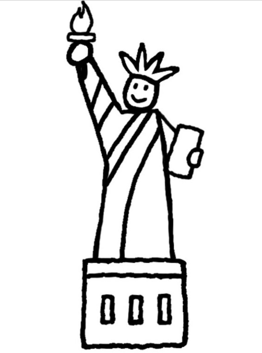 This originally came from https://richdavis1.wordpress.com/2014/03/03/draw-the-statue-of-liberty/ .