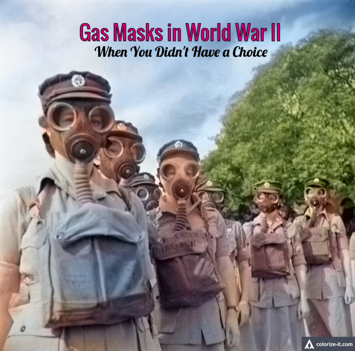 Gas Masks in World War II - When You Didn't Have a Choice