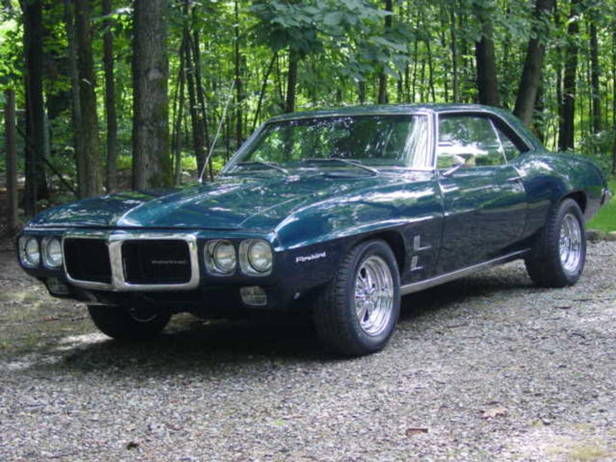 8.  1969 Pontiac Firebird
