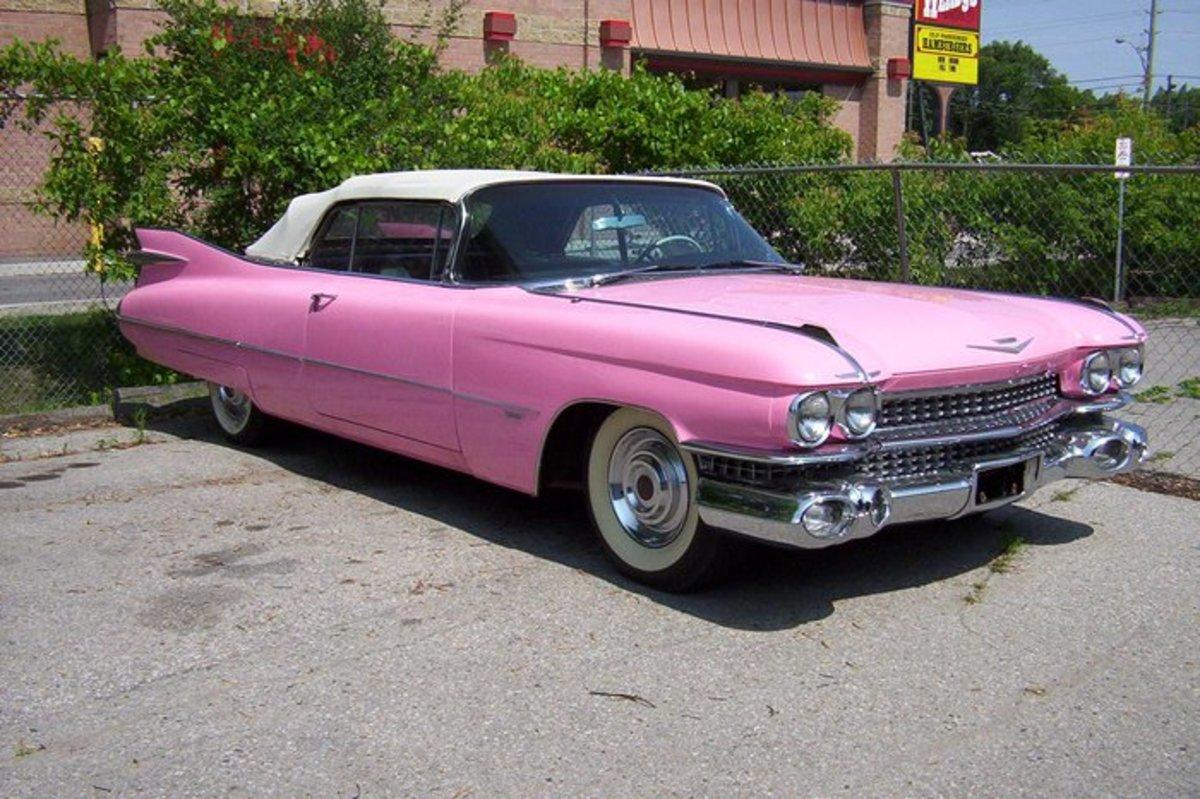 9.  1959 Cadillac Convertible