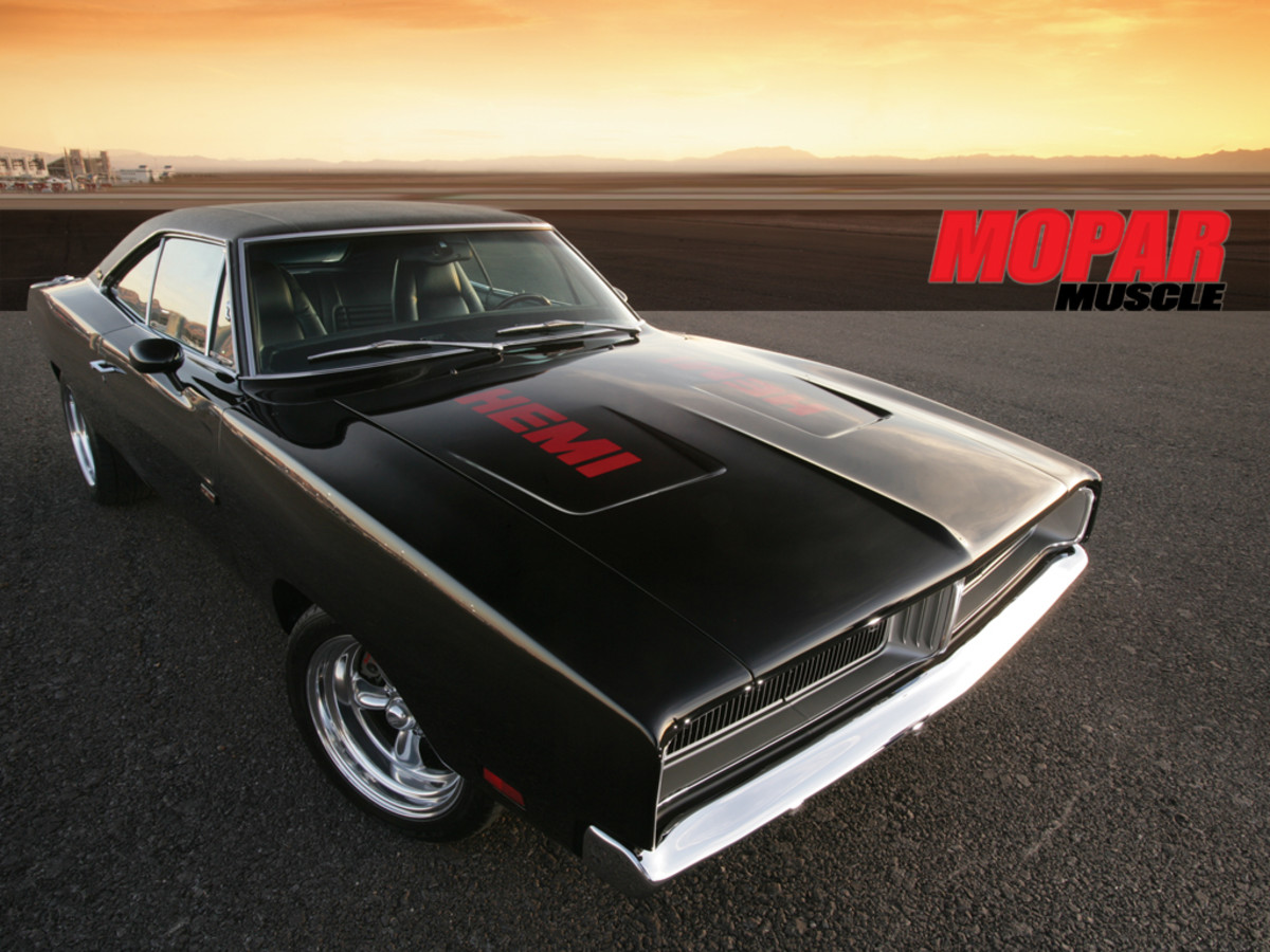 7.  1969 Dodge Charger