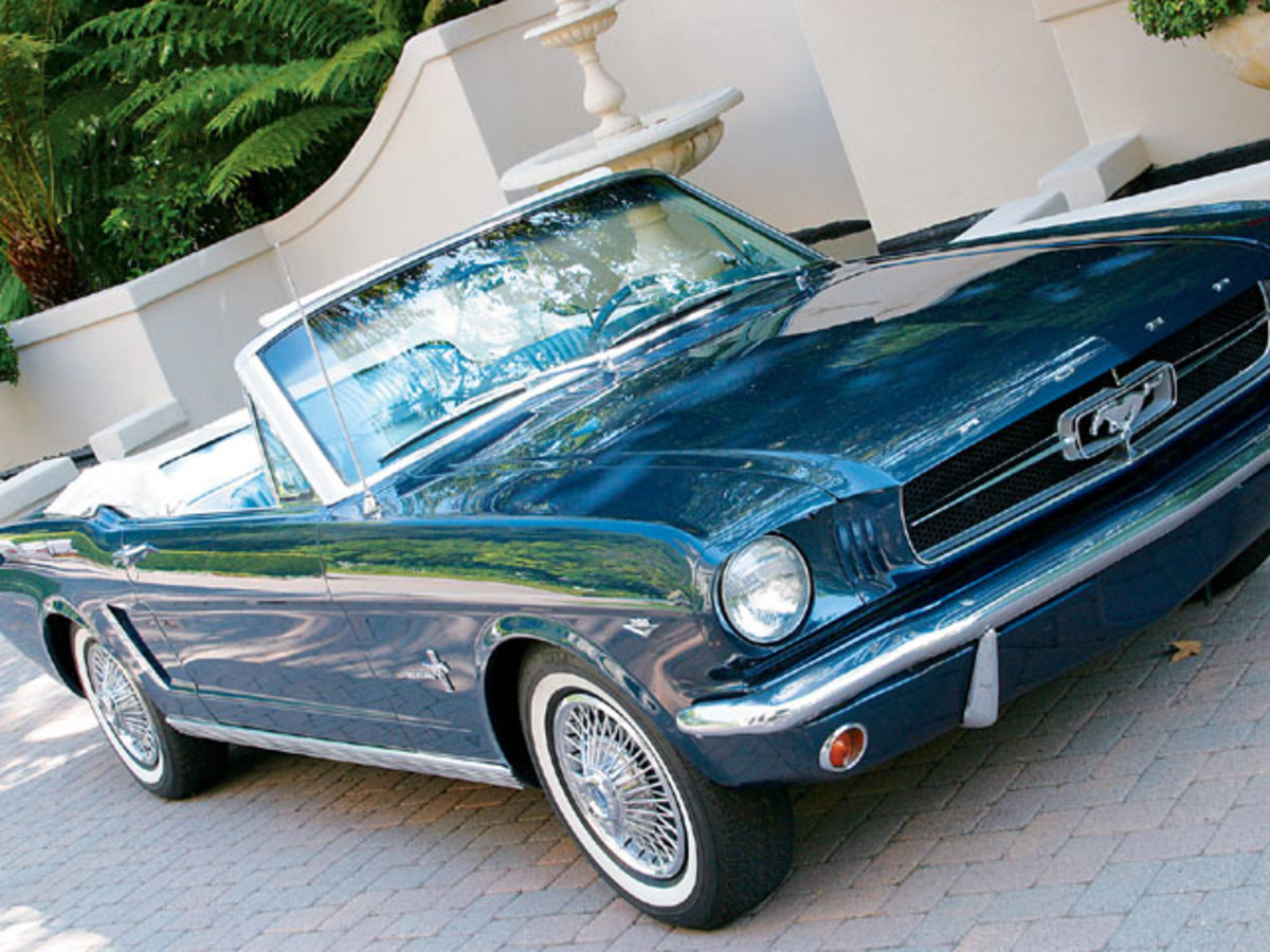 2. 1964 Ford Mustang