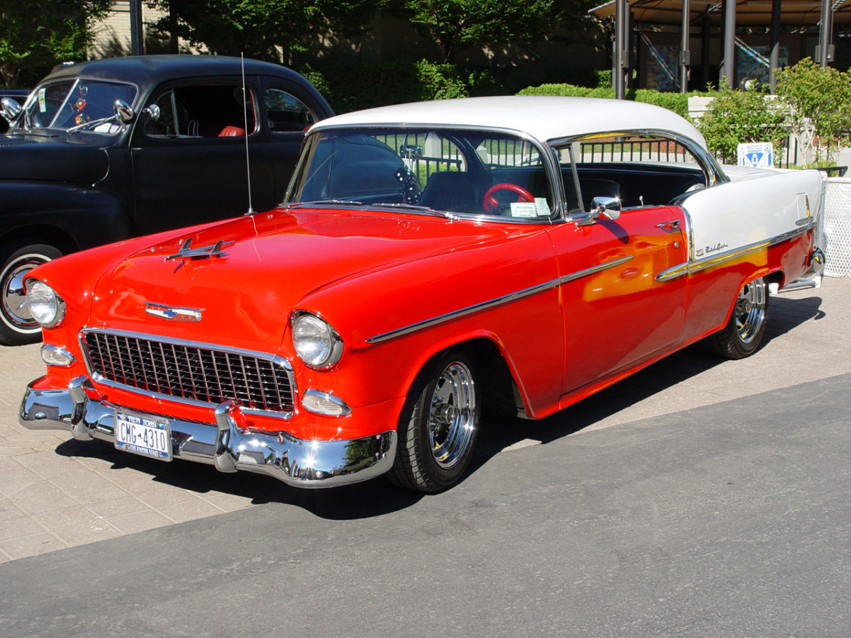 5.  1957 Chevrolet Bel Air