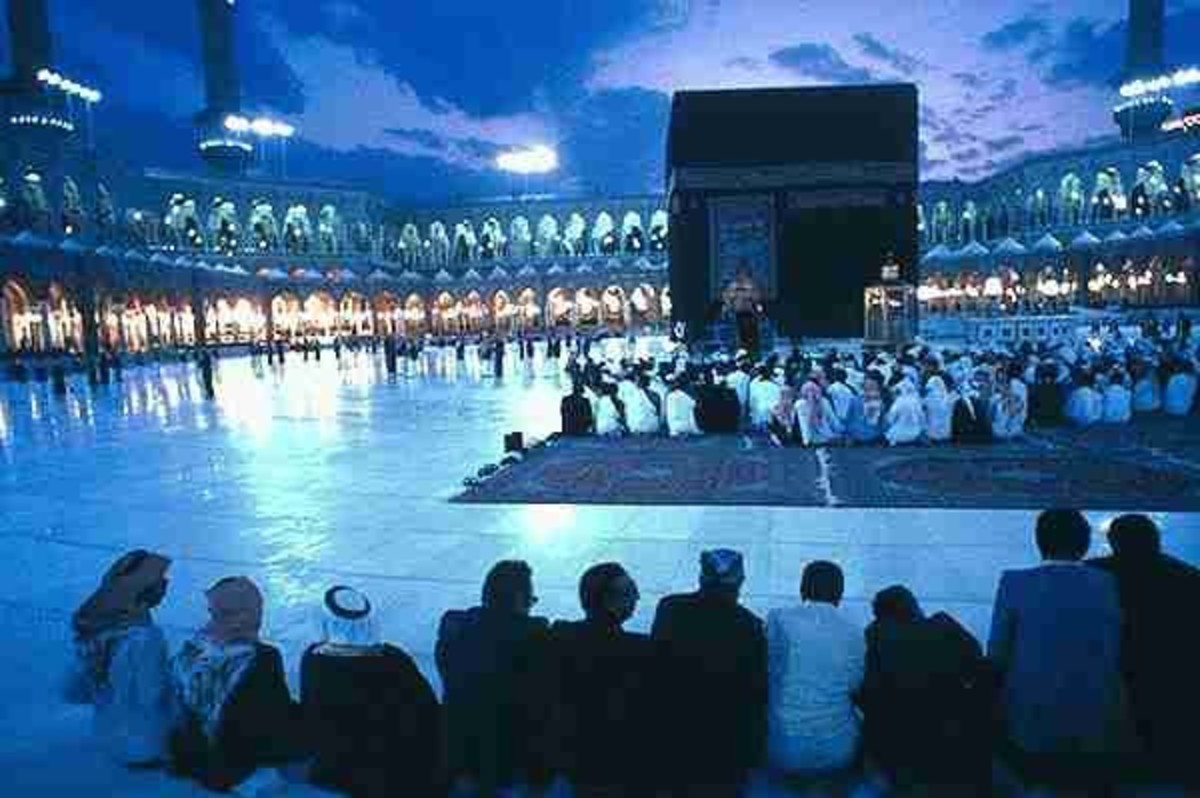 Beautiful view of the Ka'ba