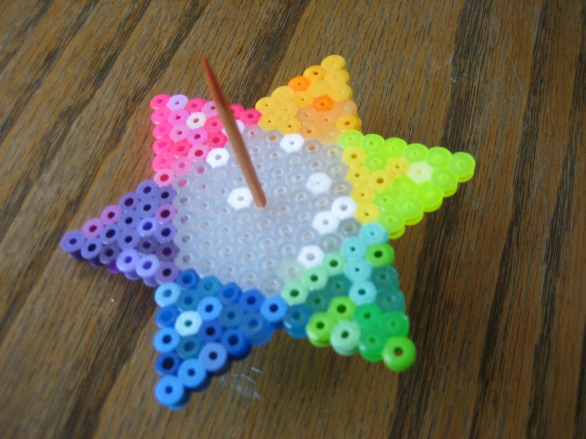 Spinning Star created by my 10 y/o.  Original design.
