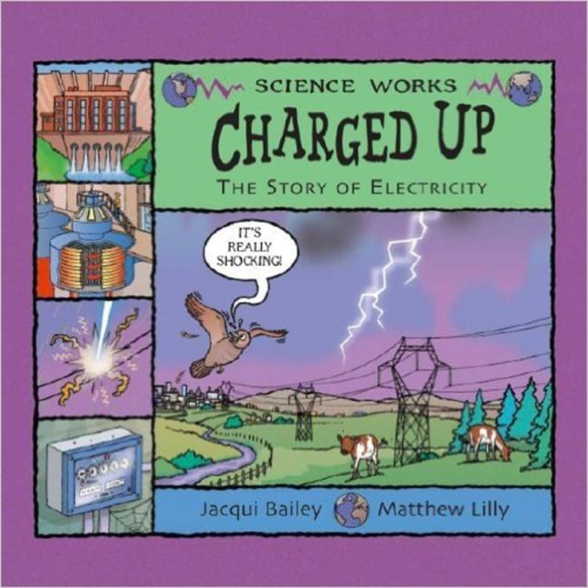 Charged Up: The Story of Electricity (Science Works) by Jacqui Bailey