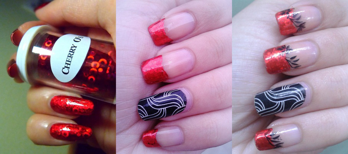 Nail Art For Beginners 2018 How To Do Transfer Foil Nail Art Hubpages