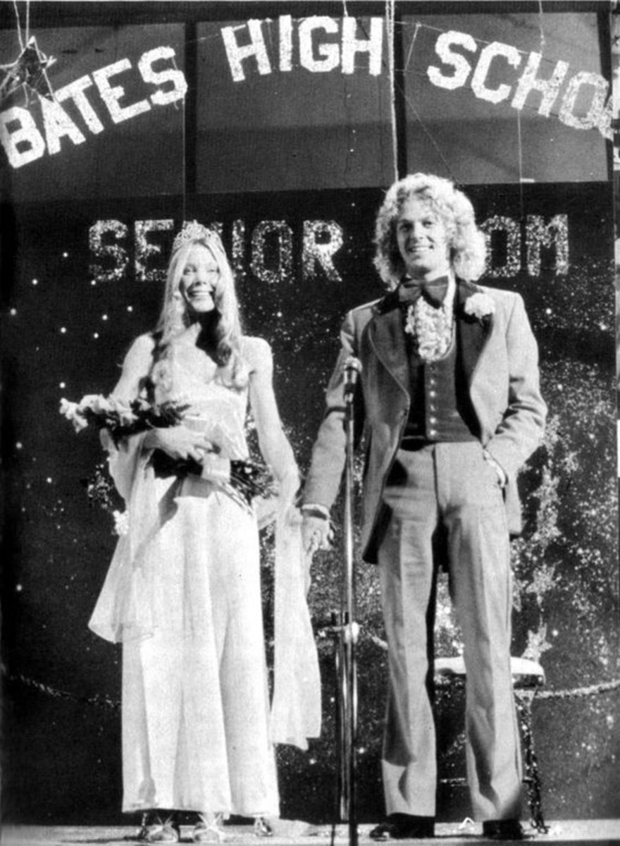 The famous prom scene in Carrie.