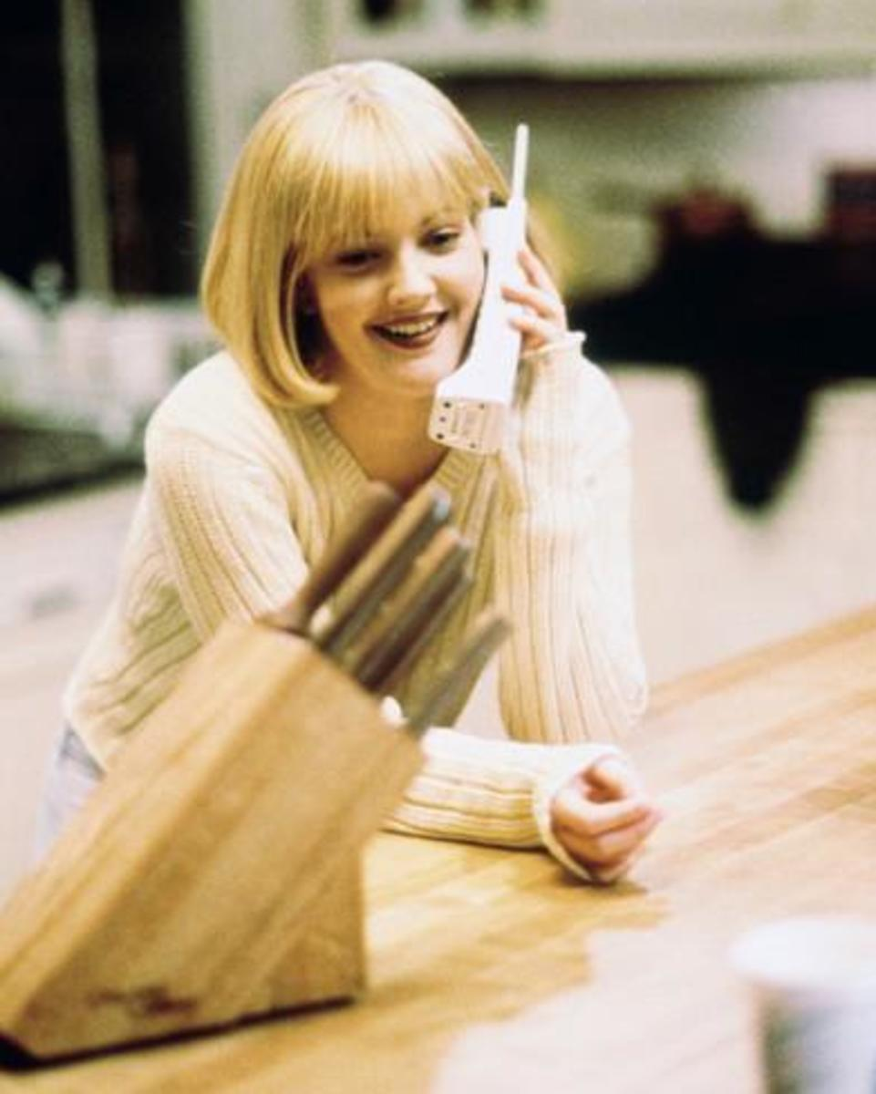 Drew Barrymore as Casey Becker in Scream.