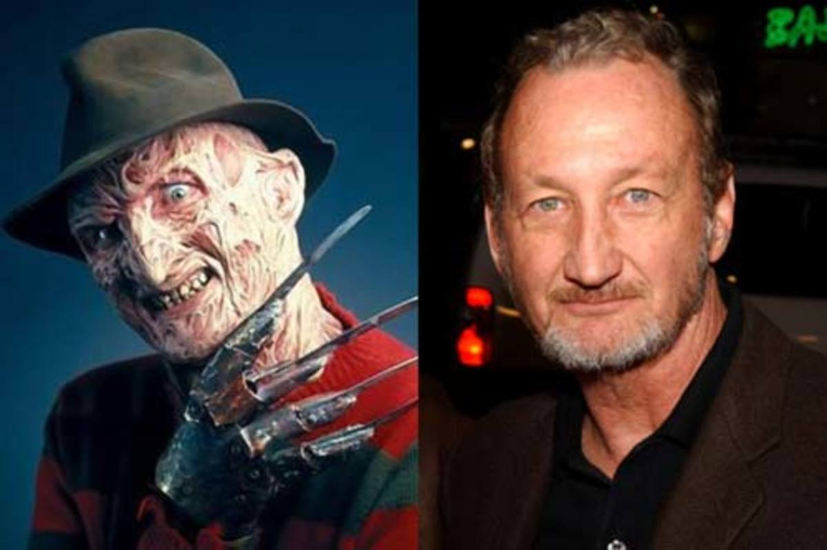 Robert Englund as the iconic Freddy Krueger.