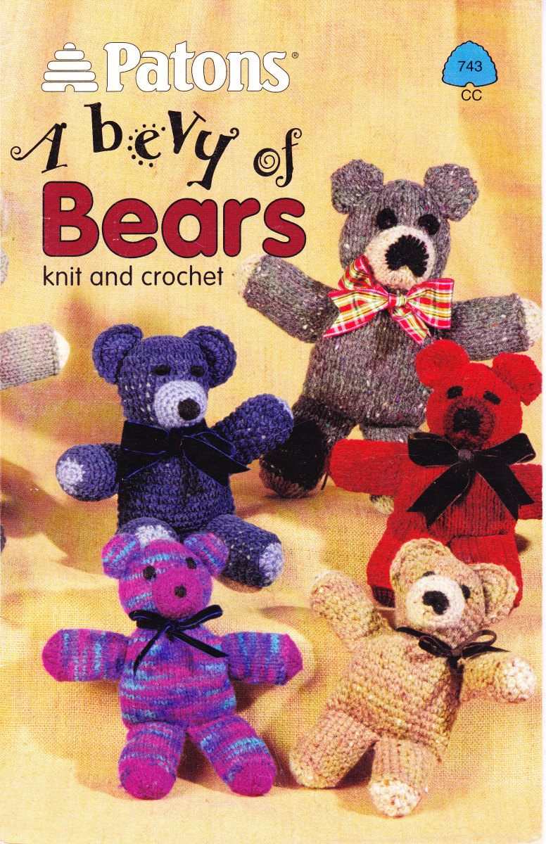 The pattern book I used for all these bears.