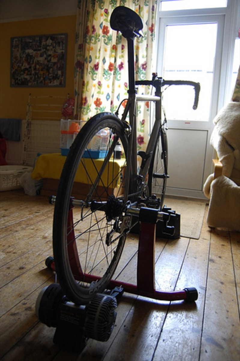 Use your turbo trainer as part of you cycle training to develop more power