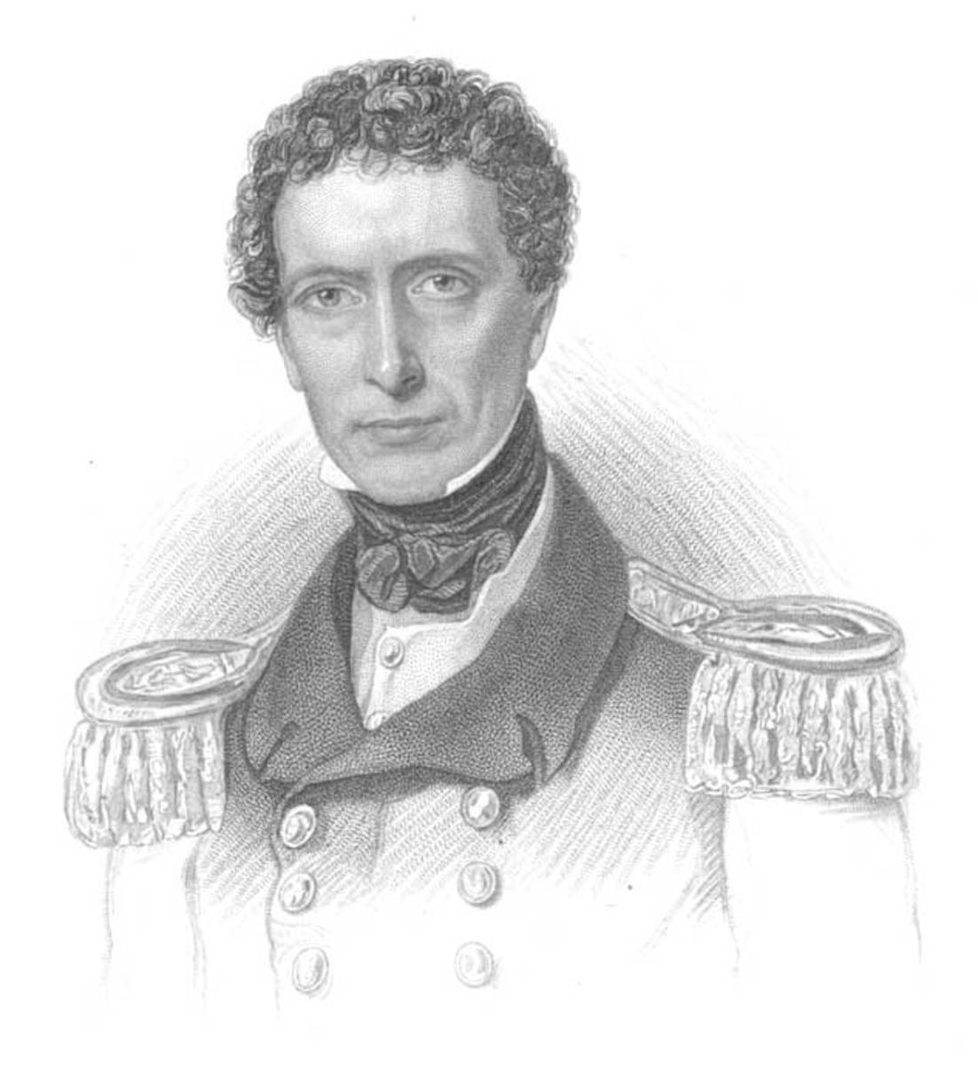 ALLEN GARDINER, COMMANDER, BRITISH ROYAL NAVY