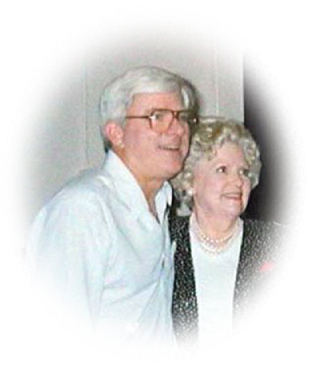 Mrs. Frances Mealbach with Phil Donahue
