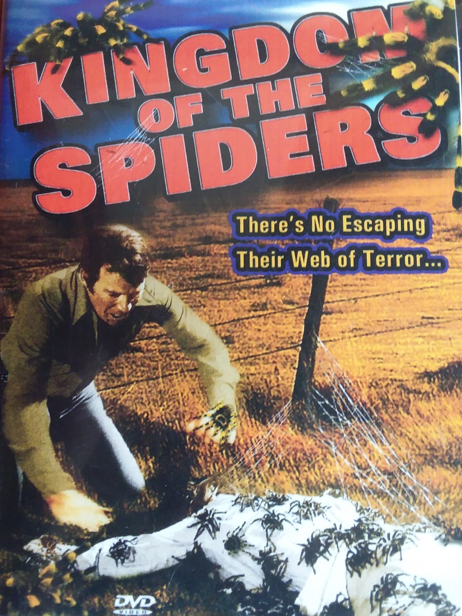 Cover of my Kingdom of the Spiders DVD