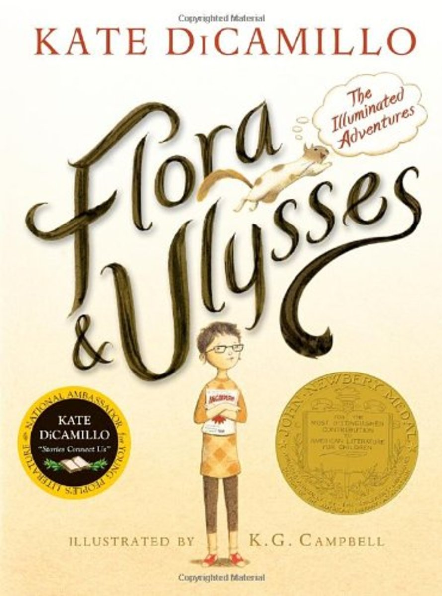 Flora and Ulysses, the 2014 winner of the Newbery Medal.