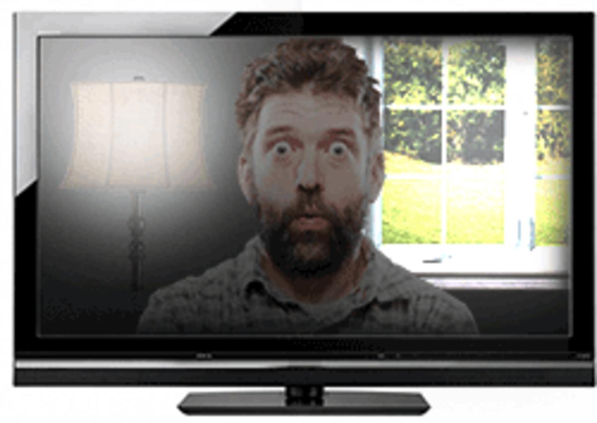 HDTV glare: It's Evil.