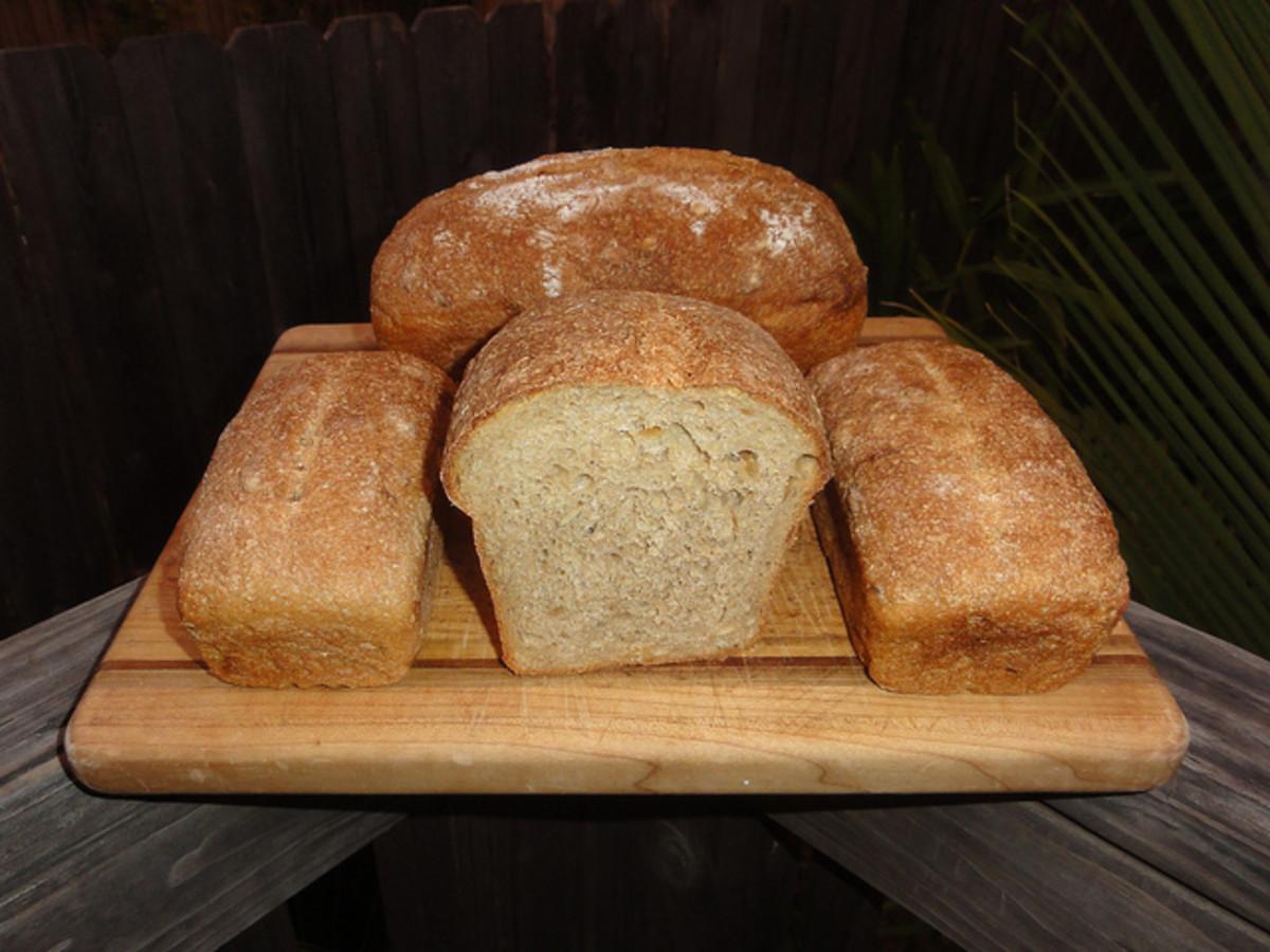 Three Pumpkin Bread Recipes   For Bread Machine and Oven