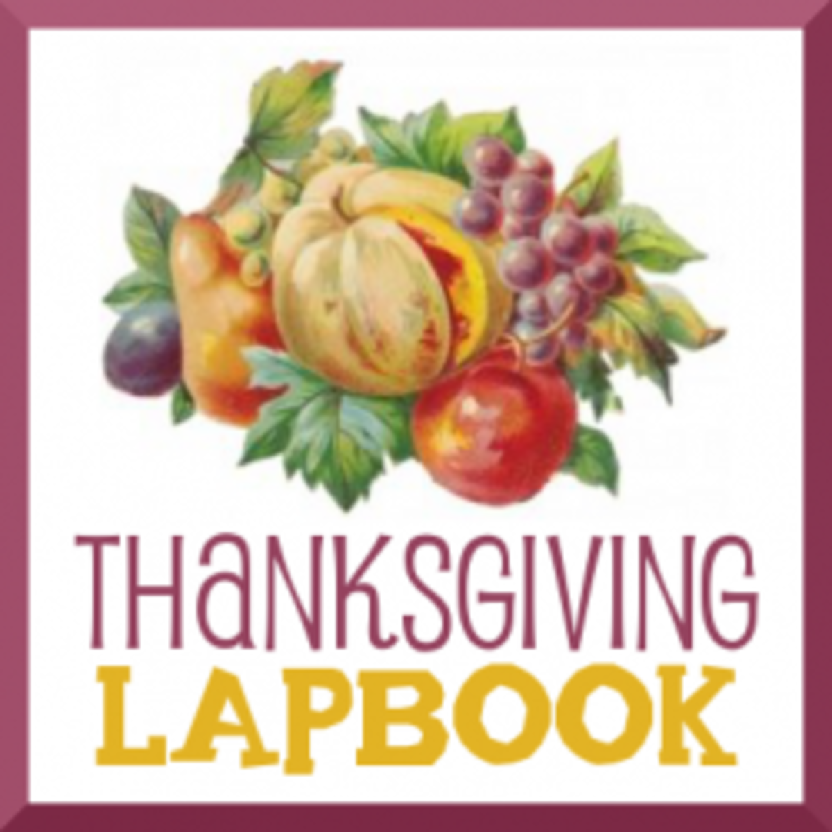 thanksgivinglapbook