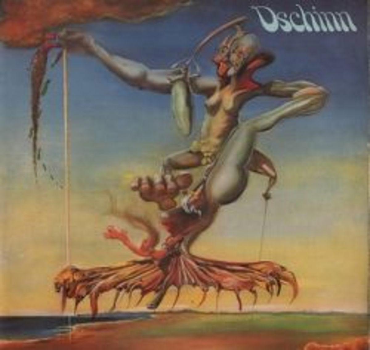 "Dschinn ""Dschinn"" Bellaphon Bacillus Records BLPS 19120 12"" LP Vinyl Record German Pressing (1972)"