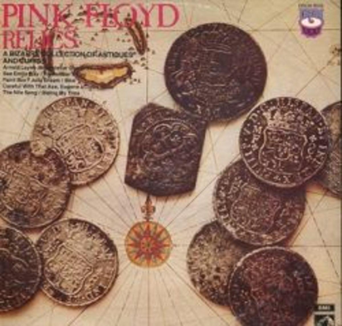 "Pink Floyd ""Relics"" Drum 8026 12"" LP Vinyl Record, UK Pressing (1971)"