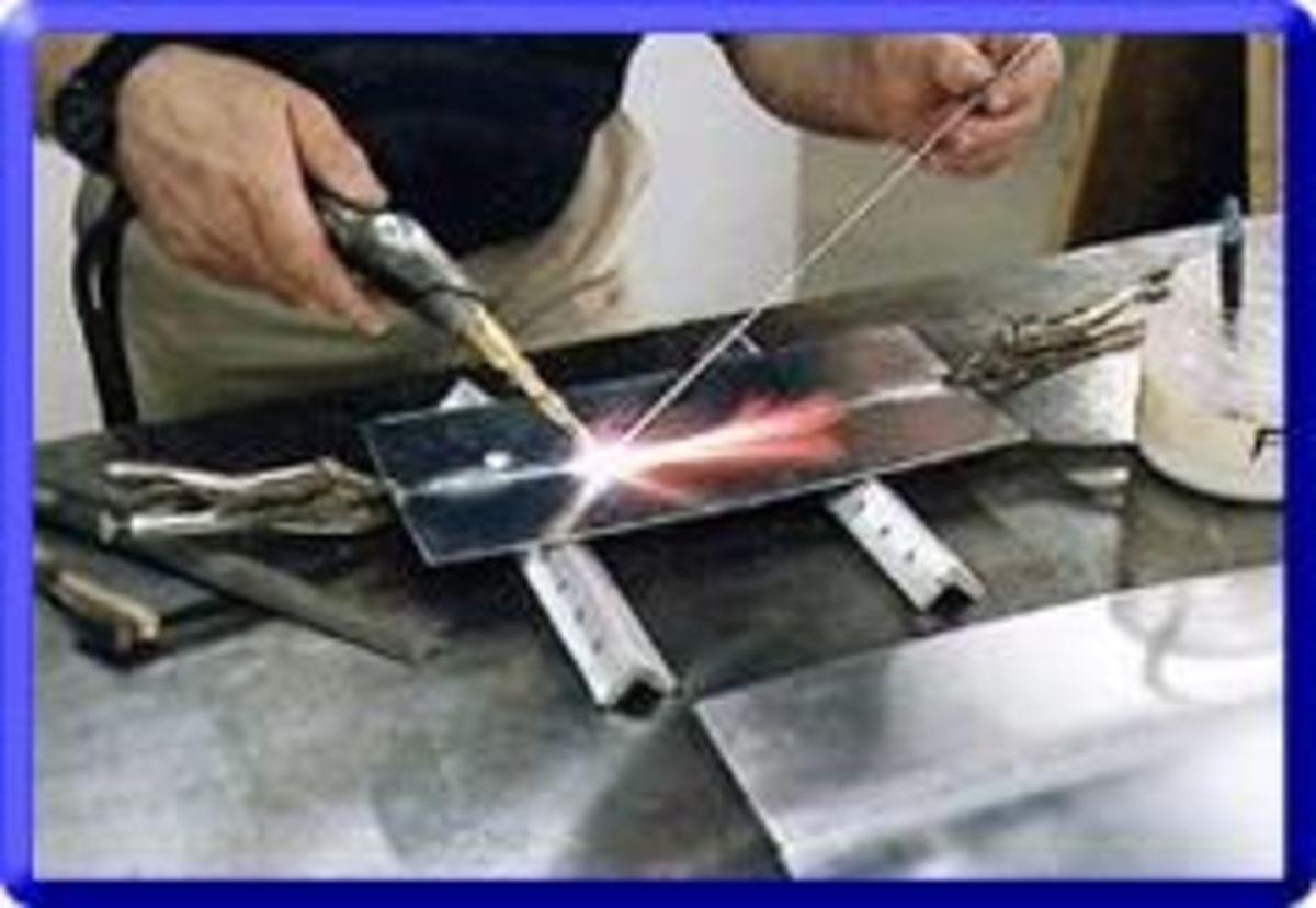 gas weld aluminum dvd
