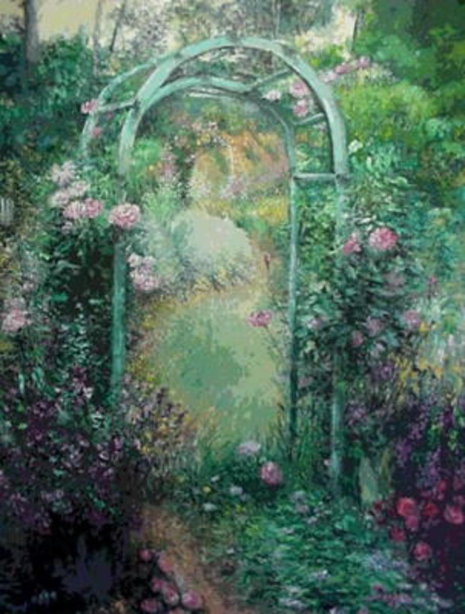 God is a Gardener - Garden Analogy