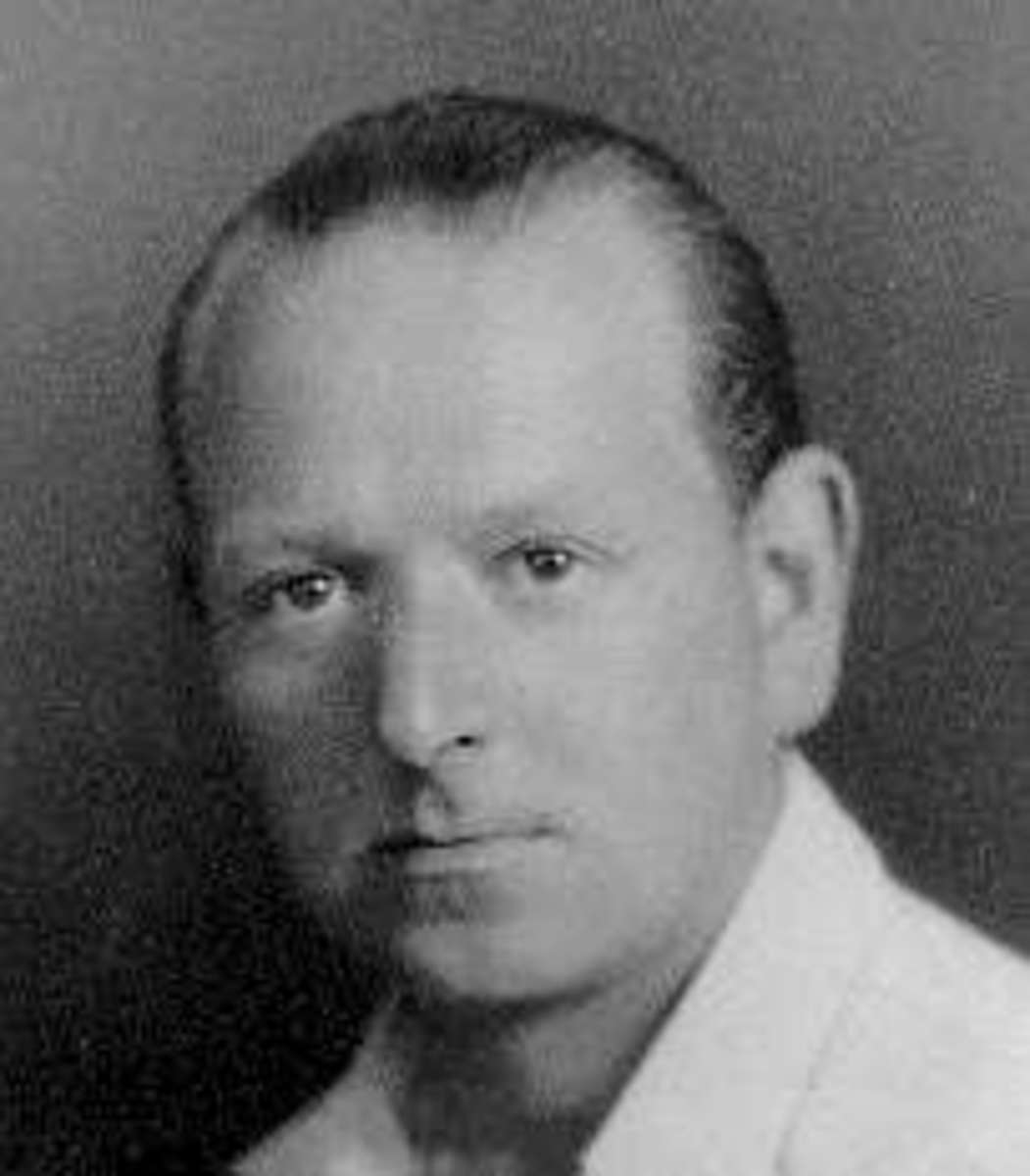 Dr. Edward Bach, developer of Bach Flower Remedies