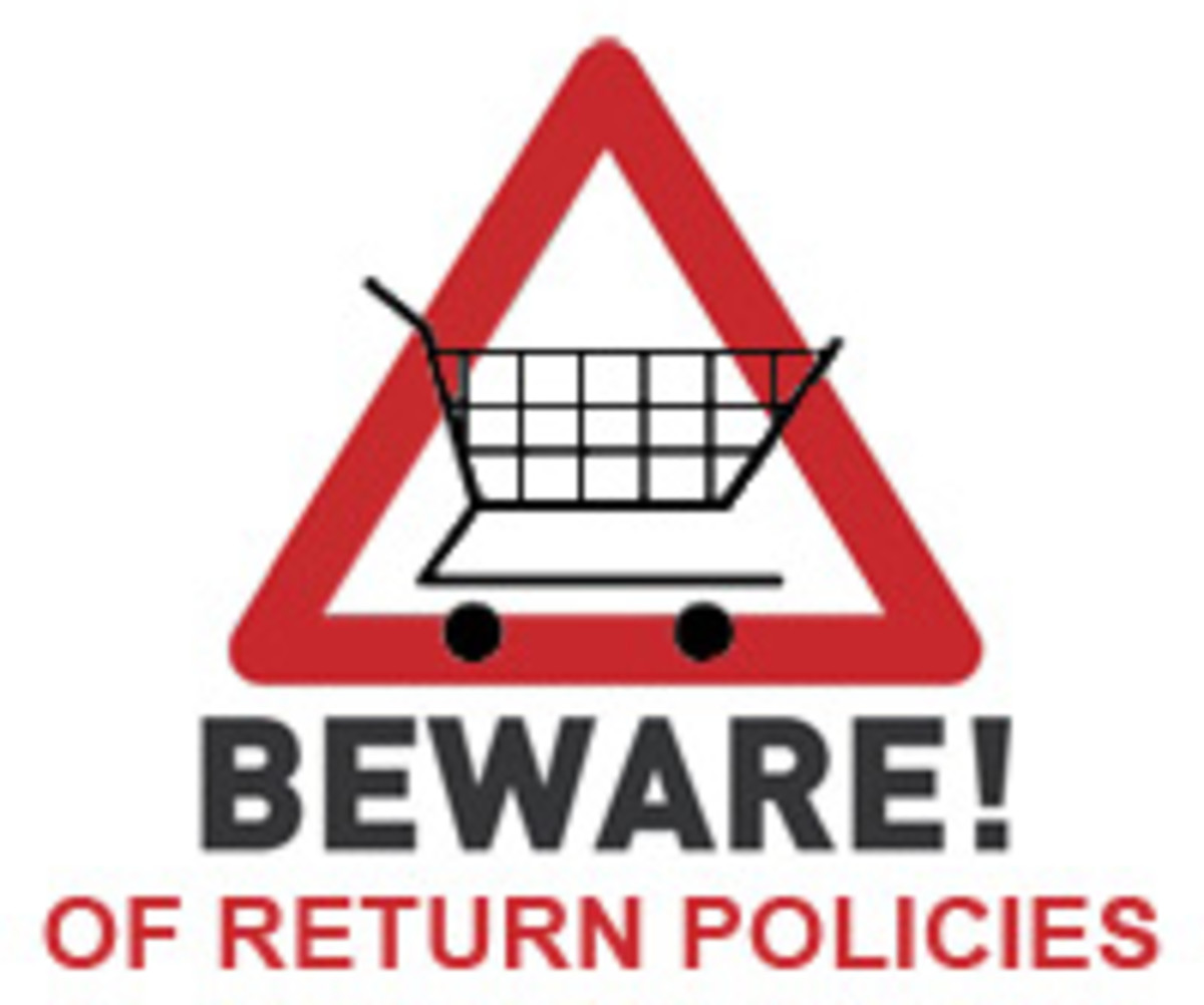 Buyer Beware graphic designed by MarloByDesign.com