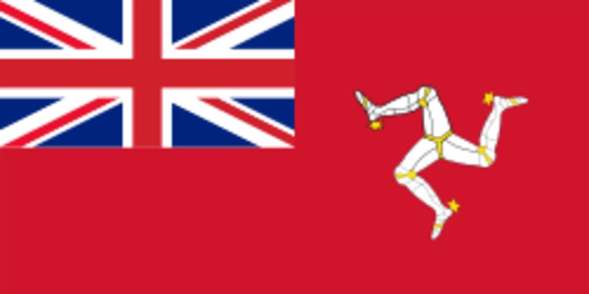 Isle of Man Flag