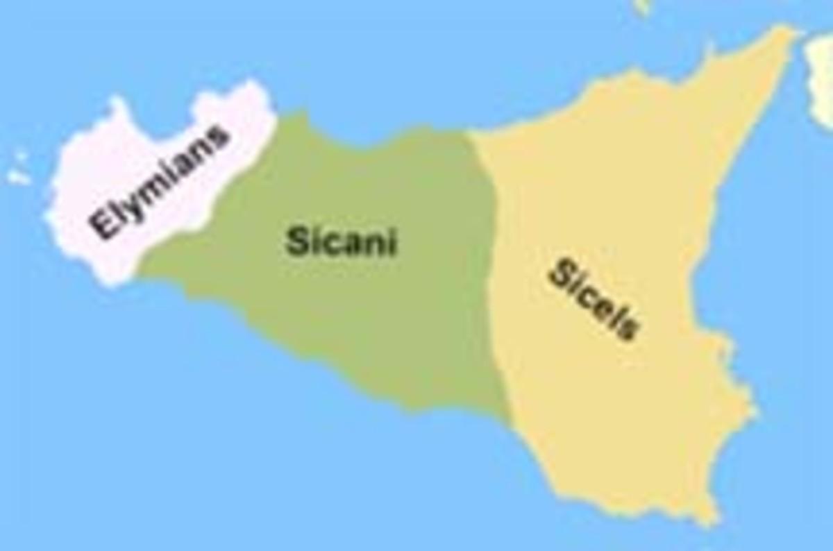 Italic Tribal Divisions