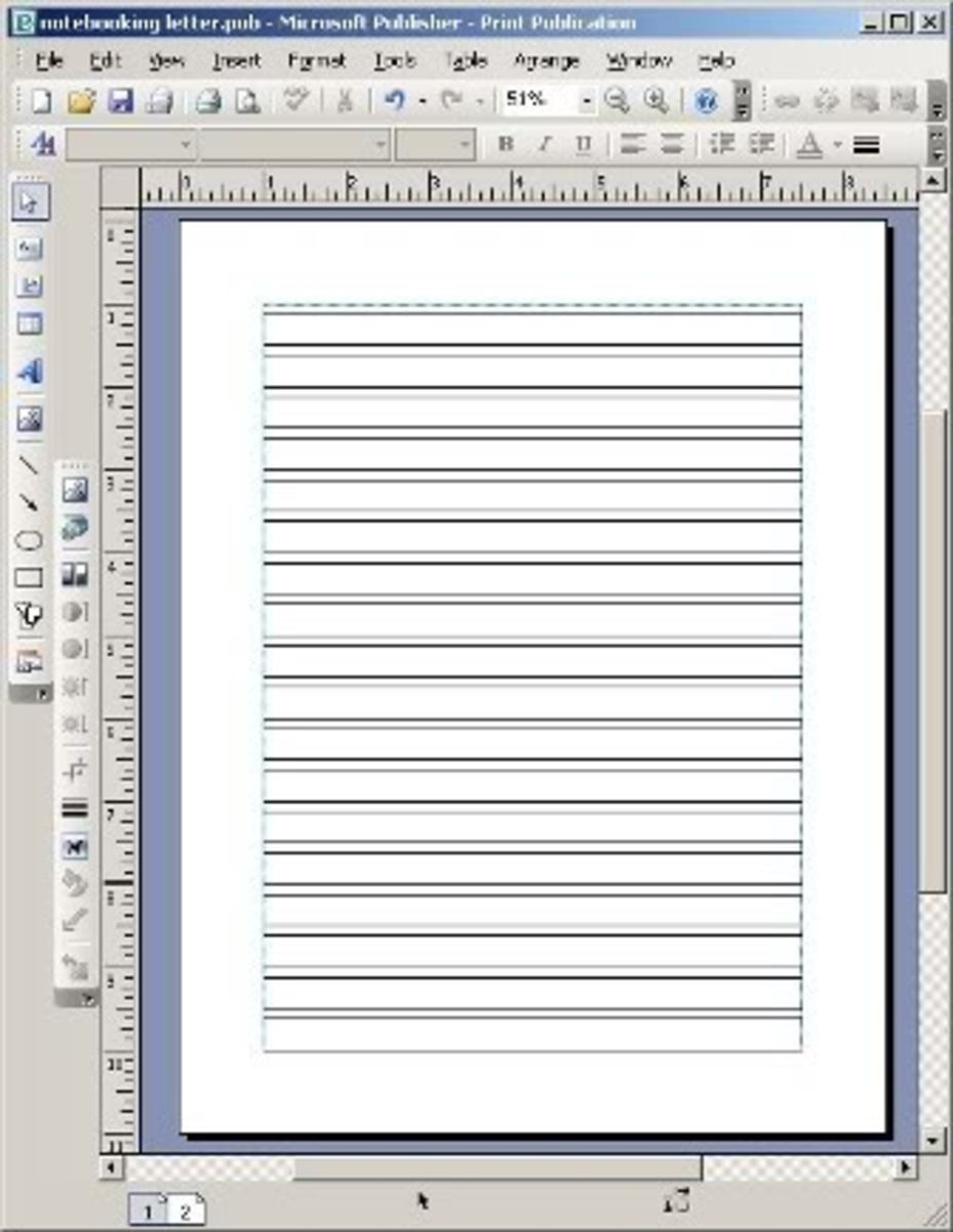 how to get vertical line in word to move vertically
