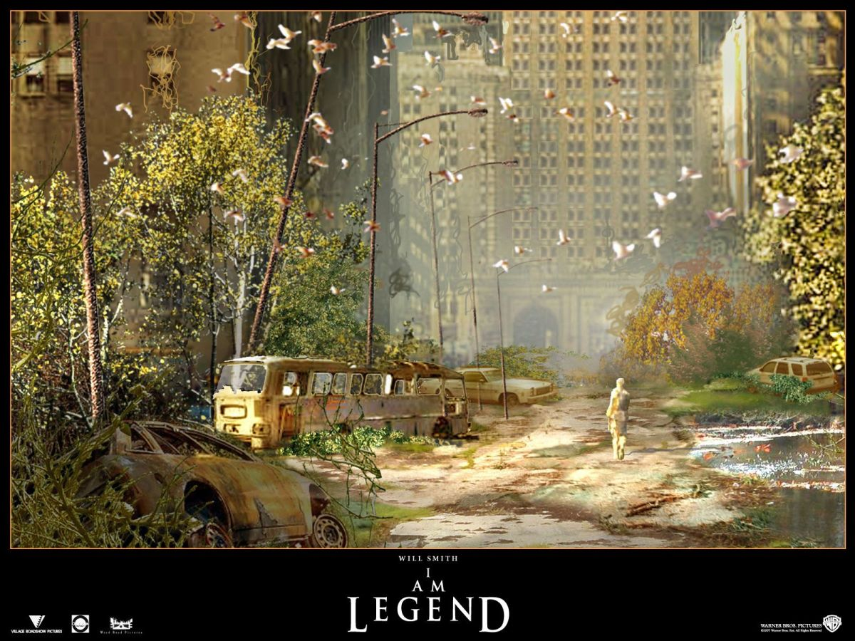 I Am Legend concept art