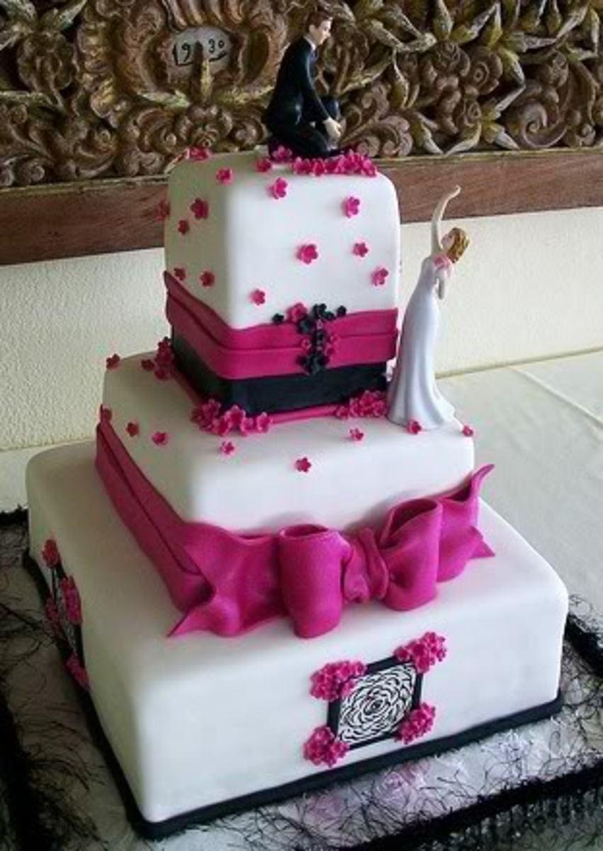 Fondant Tiered Cake
