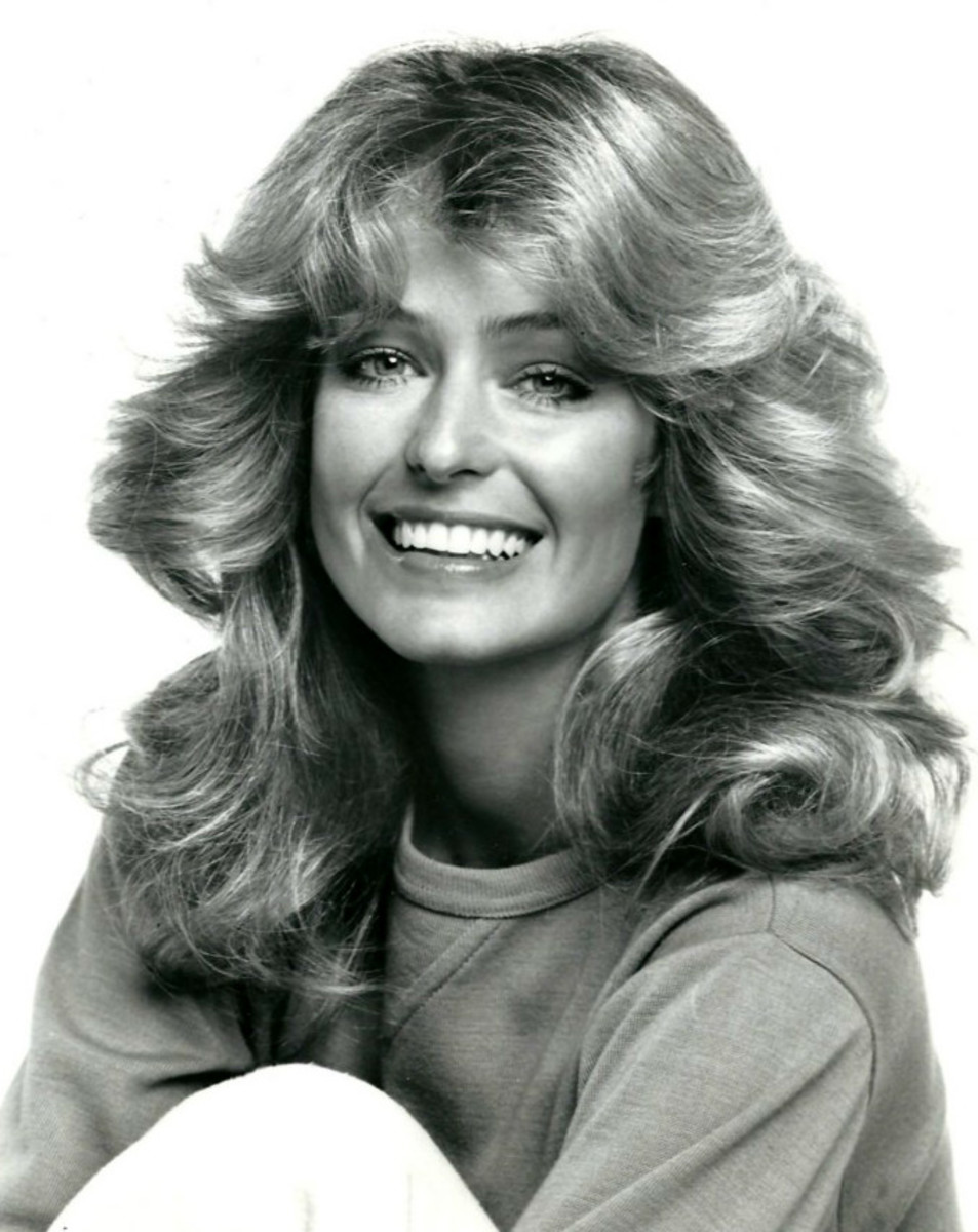 Photo of Farrah Fawcett from the television program Charlie's Angels.  Press release is dated 25 October 1977