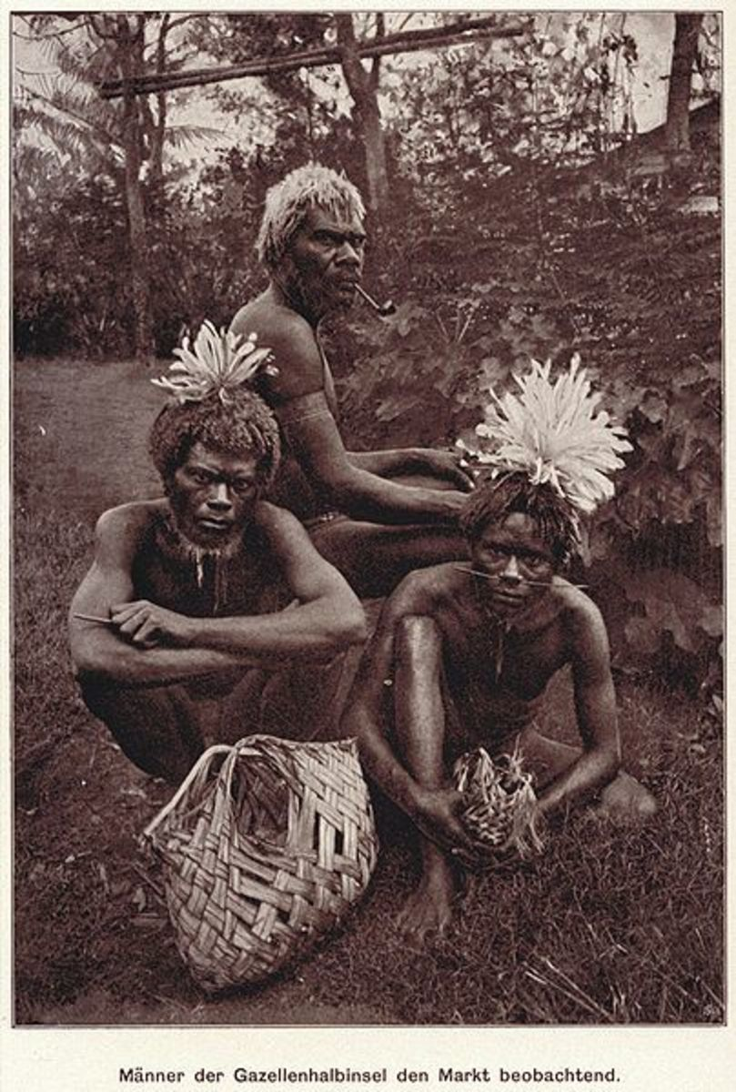 Papua New Guinea Men of Gazelle Pensinula