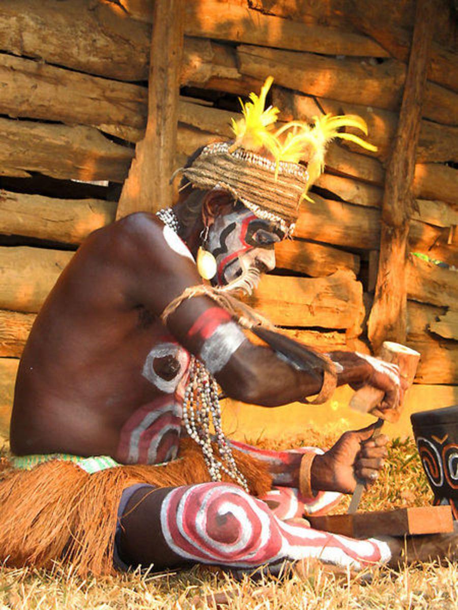 Asmat Tribe Member
